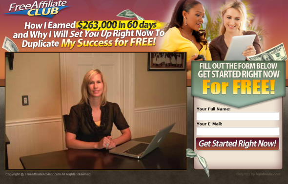 Free Affiliate Club Homepage